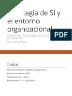 Estrategia SI y entorno organizacional