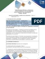 Guia de actividades y Rúbrica de evaluación - Fase  4 - Elaboración - B
