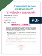 MEDICINA ANCESTRAL (ECUADOR)