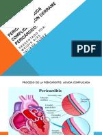 Pericarditis aguda complicada con derrame pericárdico.pptx