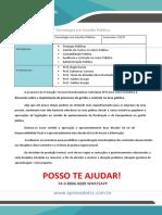 PR Gestão Pub 2 3 Implantação de Processos de Gestão e Controle Na Área Pública
