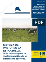 Guía Pastoreo INIA La Estanzuela