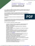 Normas Reguladoras de Mineração - Operações com Explosivos