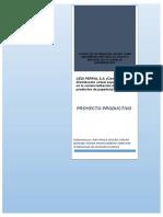 centro de distribucion proyecto producto