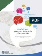 Malvinas; memoria, soberanía y democracia