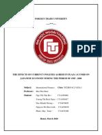 Nhóm 8 lớp CLC_Cô Mai Hiền_Ảnh hưởng của việc nâng giá tiền tệ với Nhật Bản qua hiệp định Plaza 1985.pdf