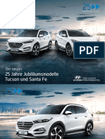 Hyundai TL Tucson & DM Santa Fe 25 Year Edition German Edition