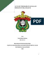 Tugas Besar Teori Peluang H011181312 Catur Brilian Setiawan