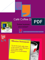 Cafe Coffee Day - Ind Env