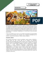 periodo paleolitico 3° y 4°