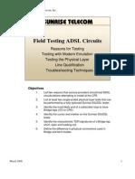 FieldTestingADSLCircuits