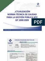 MP 41T-V1 ACTUALIZACIÓN NORMA TÉCNICA  DE CALIDAD PARA LA GE