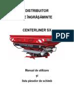 Tulip Distribuitor ingrasaminte Centerliner SX