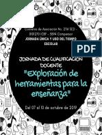 JORNADA DE CUALIFICACIÓN DOCENTE OCTUBRE (1)