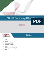 5G NR summary_201712_RAN3