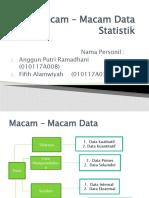 Macam – Macam Data Statistik