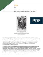 Notas sobre el uso de la concertina en la música peruana