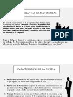 La empresa y sus características