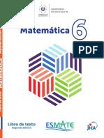 Libro de Matematica 6º grado completo del MINEDUCYT El Salvador