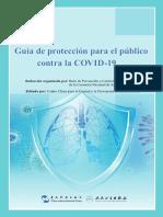 Guía de protección para el público contra la COVID-19