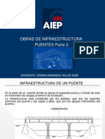 Obras de Infraestrcutura AIEP 2020 PUENTES Parte 2