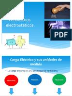 Fenómenos electrostáticos