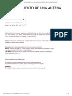 POSICIONAMIENTO DE UNA ANTENA SATELITAL_ UBICACION DE SATELITE