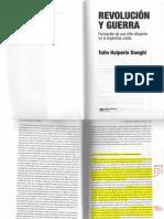 HALPERIN, Tulio. Revolucion y Guerra, pp. 153-188