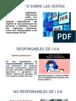 NO RESPONSABLES DE I.V.A REGÍMENES TRIBUTARIOS