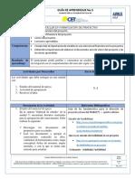Guía de Aprendizaje  unidad 5- Estructura financiera