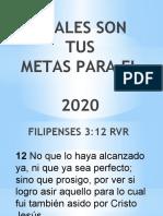LAS METAS 2020.pptx
