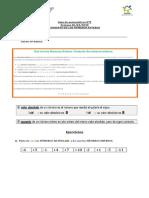 Guía de matemáticas Nº2
