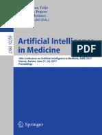 Annette ten Teije, Christian Popow, John H. Holmes, Lucia Sacchi (Eds.)-2017-Artificial Intelligence in Medicine.pdf