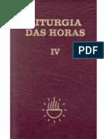 Liturgia das Horas IV - Tempo Comum 18o  - Clovis Melo.epub