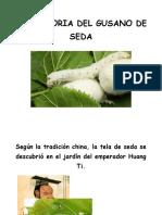 LA HISTORIA DEL GUSANO DE SEDA