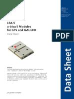 LEA-5x_Data_Sheet(GPS.G5-MS5-07026)