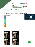 Ar-Razi  Ilmuan Muslim Multi Skill - Mina News.docx