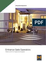 Hormann Gate Operators