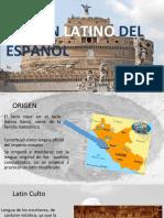 origen latino del español