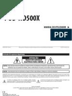 POD HD500X Pilots Guide - Portuguese