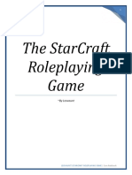 StarCraft Roleplaying Game Core Rulebook