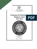 Programa de Embriologia