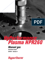 HPR260 MANUAL-GAS