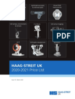 HS-UK 2020 Price List