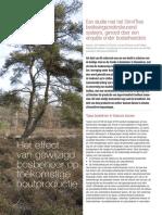 Trends en stand van zaken bosbeheer Vlaanderen