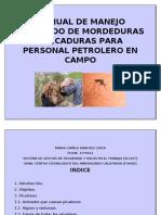 3 Manual Manejo Adecuado de Mordedura y Picaduras Para Personal de Trabajo en Campo..docx