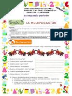 matematicas la multiplicacion grado 3