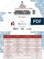Programa definitivo XIV Congreso Internacional ALEPH