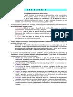 Cuestionario de Sociología.