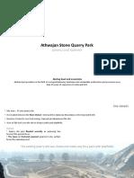 Athwajan Stone Quarry Park.pptx